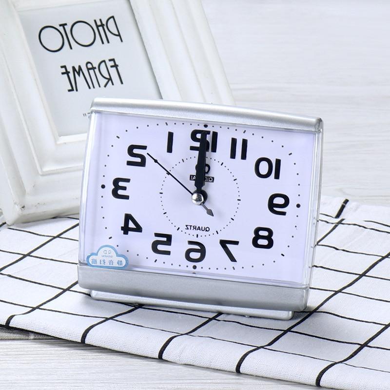 <font><b>Bedroom</b></font> Desktop Up <font><b>Clocks</b></font> beside Plastic Silent Sweeping table <font><b>Clock</b></font>