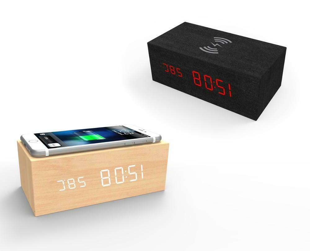 Modern Wooden 15 Digital LED Charger