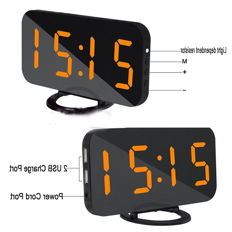 Multifunction LED Time Nigh Table <font><b>Alarm</b></font> Home Decoration