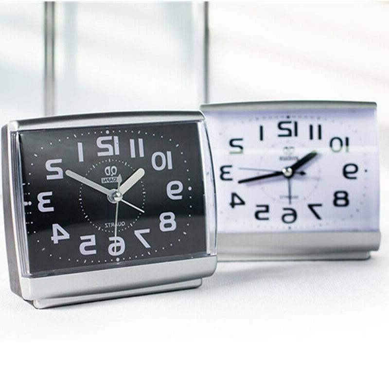 quartz analogue bedside desk beep alarm clock