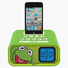 New 503928  Kermit Dual Alarm Clock  Action Cheap Wholesale