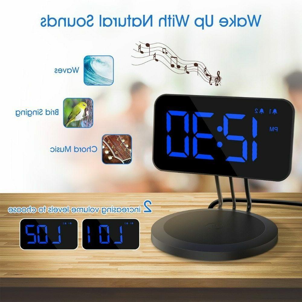 New for QiEnabled Dual-alarm 3 Ringtones