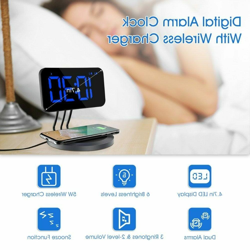 New Alarm Charger for All Dual-alarm Ringtones