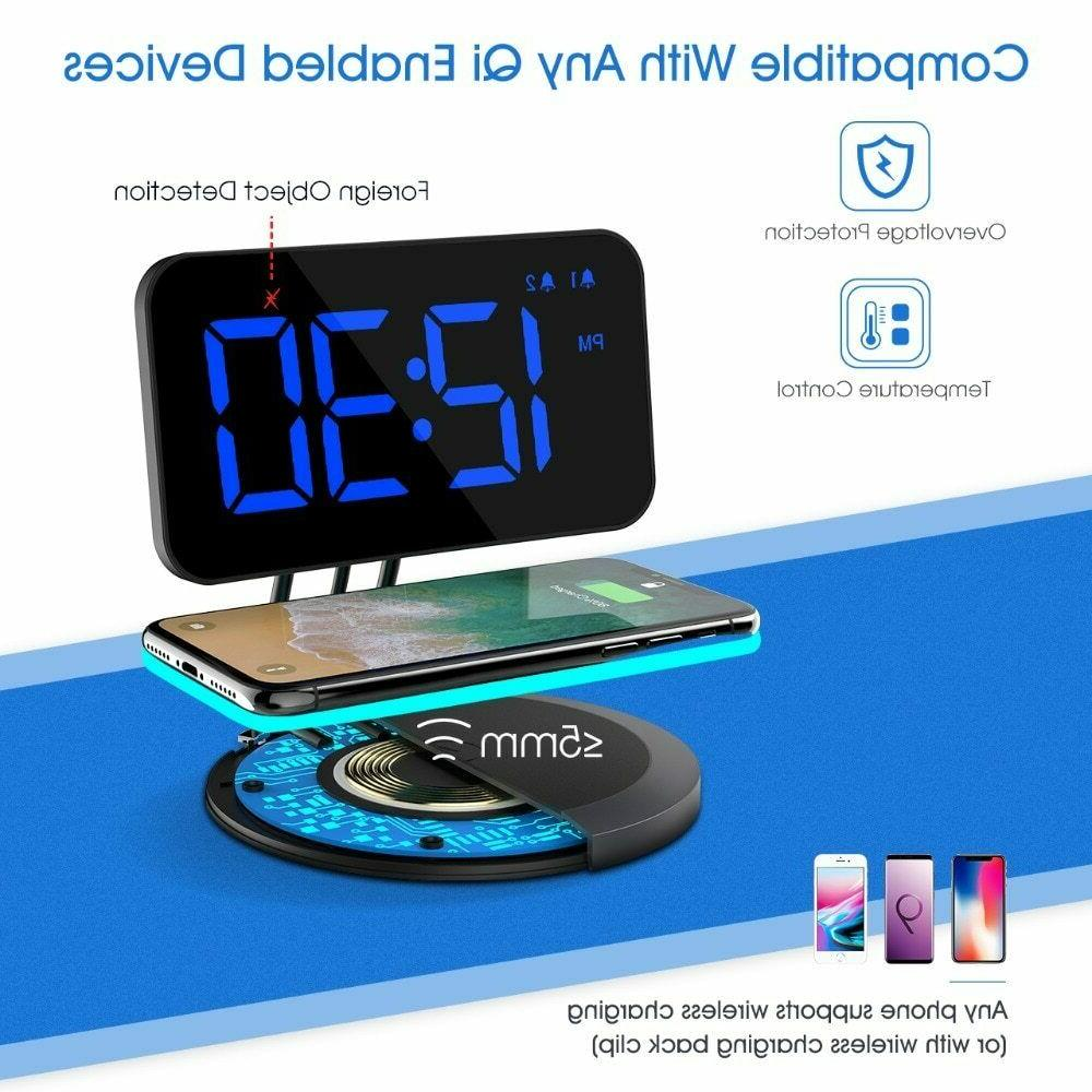 New Alarm Clock-Wireless for QiEnabled Dual-alarm 3