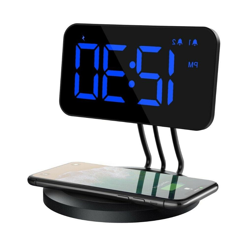 new alarm clock wireless charger for all