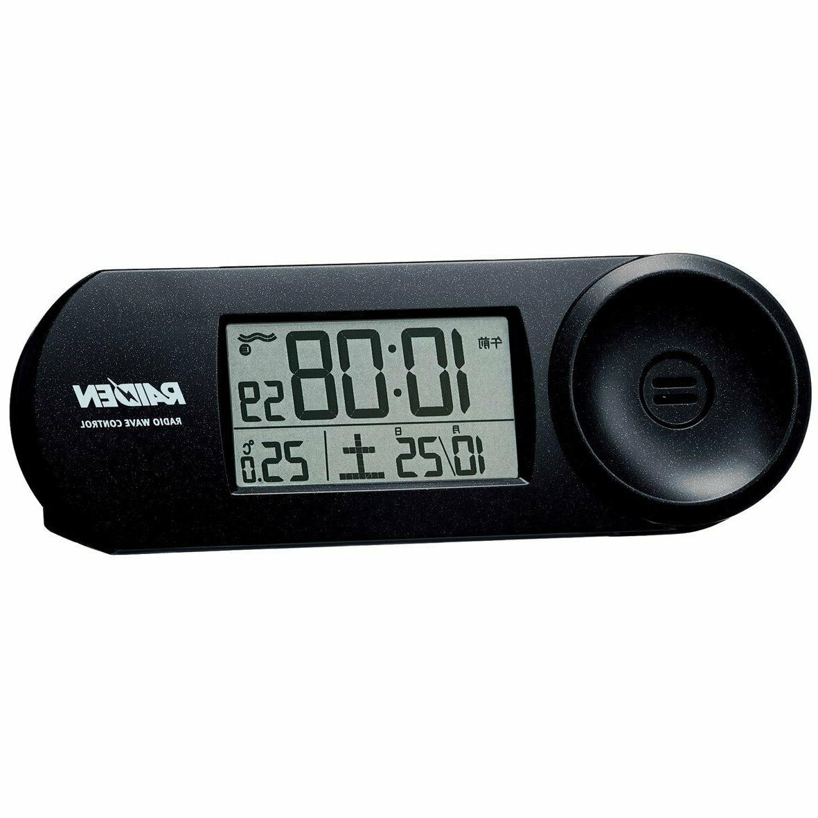 new clock raiden large volume alarm radio