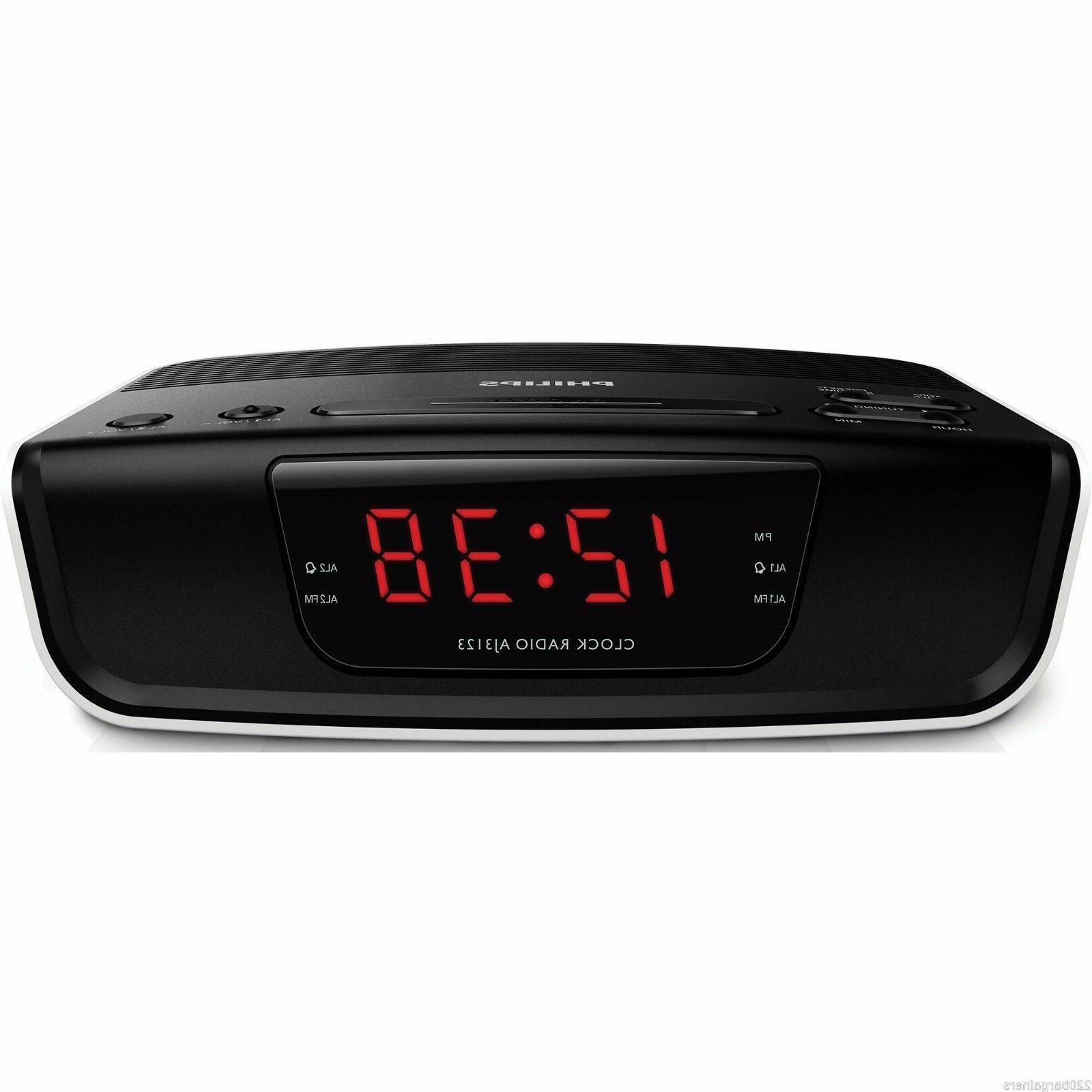 Philips Alarm Clock for Worldwide 110/220v Volt