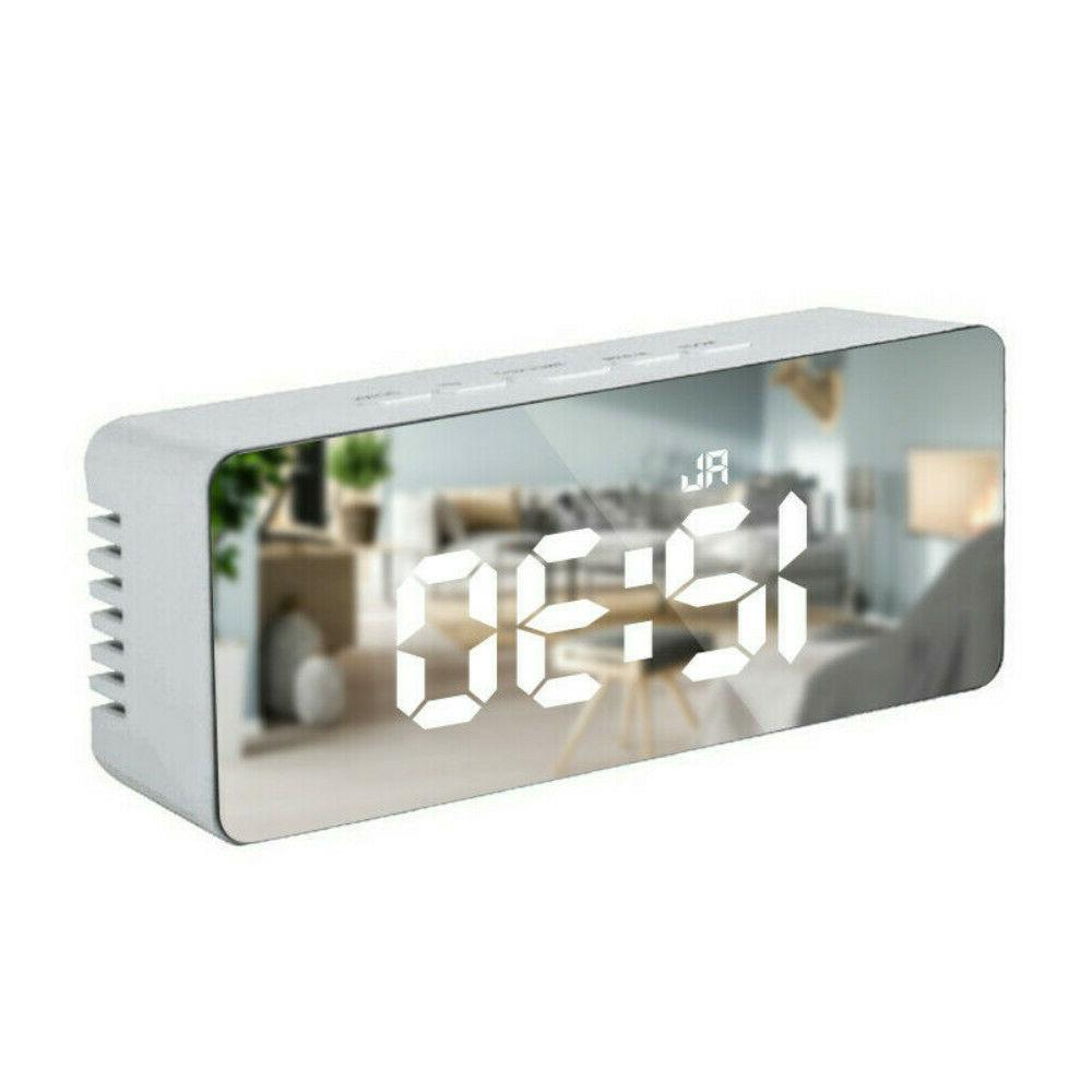 New LED Alarm Clock Thermometer Wall Clock