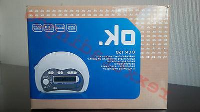 new ok ocr 150 dual alarm clock