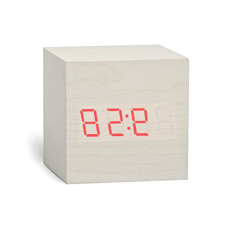 New Digital Retro <font><b>Clock</b></font> Table Control Snooze