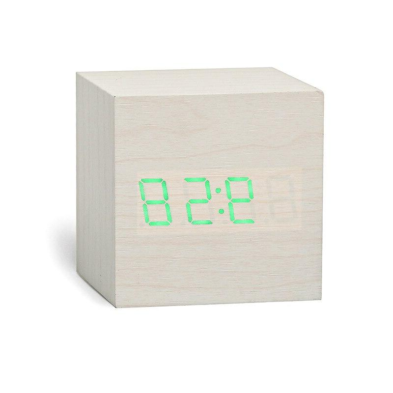 New LED <font><b>Clock</b></font> Retro Table Snooze Desk Tools