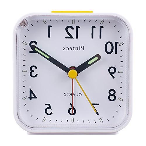 non ticking analog alarm clock