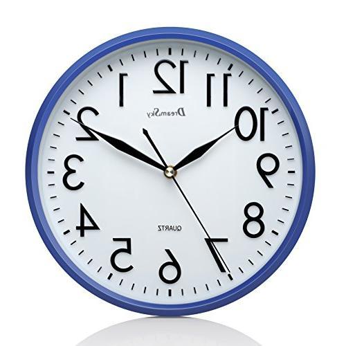 non ticking wall clock