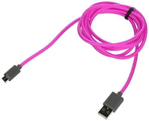 nylon braded micro usb cable