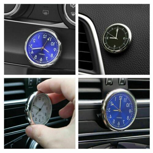 Pocket Mini Car Dashboard Clock Analog Watch US