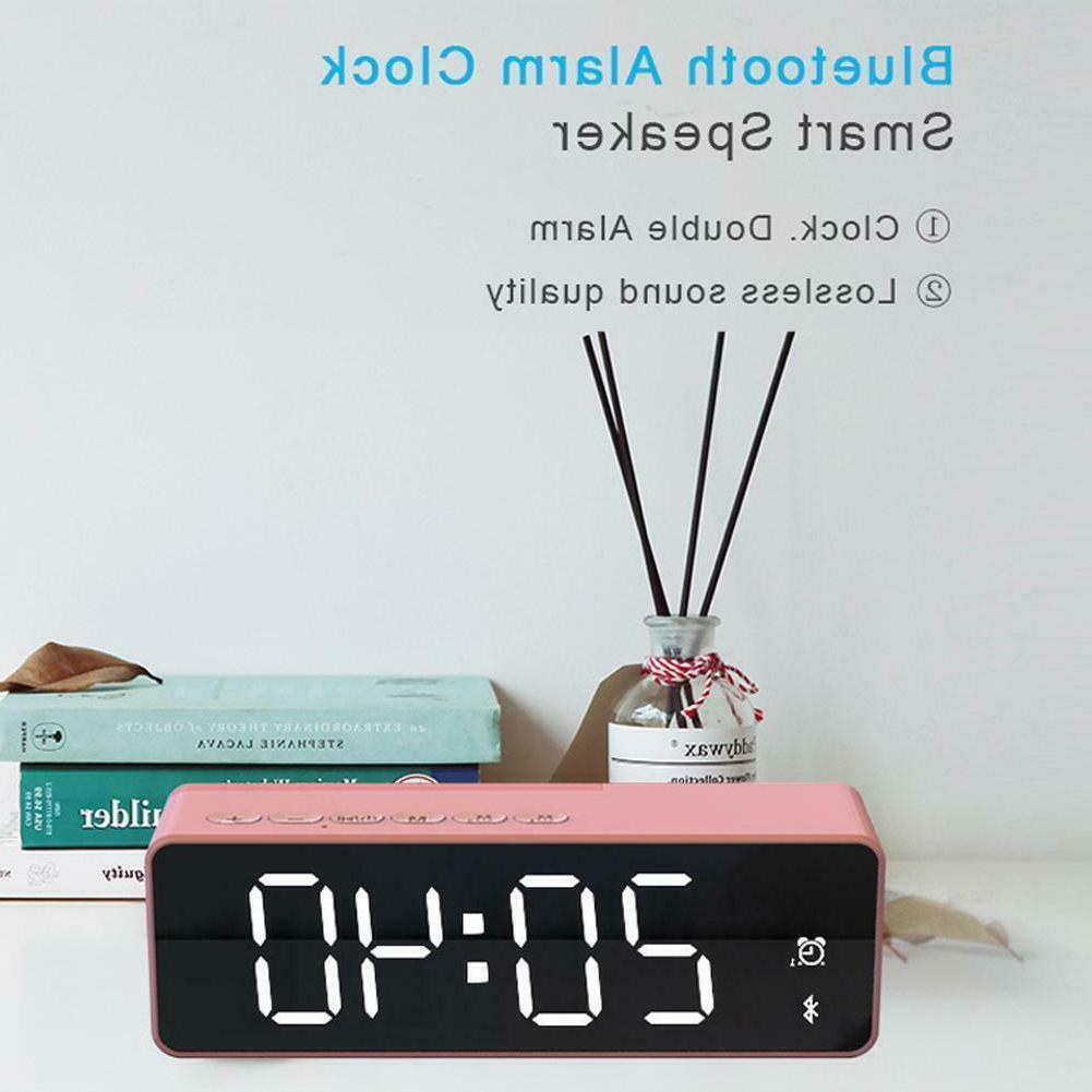 Portable LED Alarm Speakers