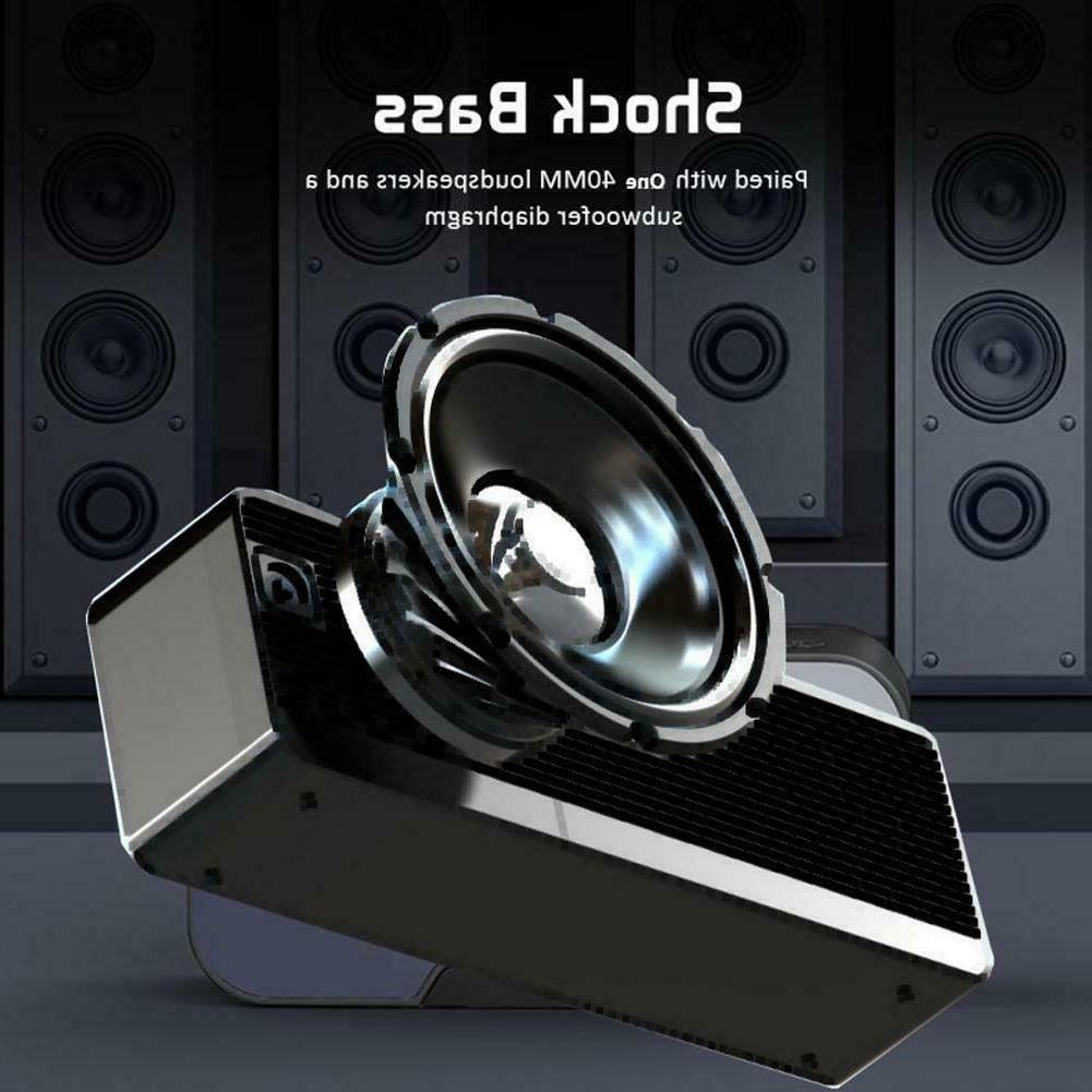 Portable Mirror Alarm Speakers MP3