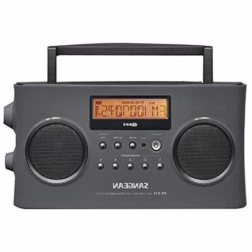 pr d15 portable stereo rds