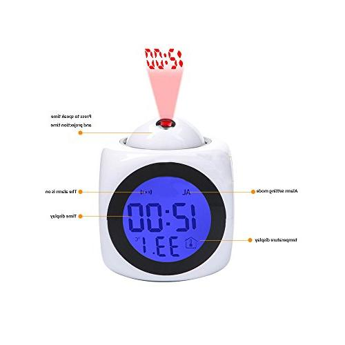 Girlsight Wake Bedroom Data and Display Talking Projection,Customize pattern-228.Funny Easter