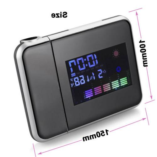 Clock Snooze LED LCD