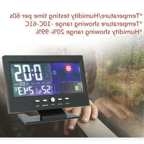 Projection Digital Clock Snooze LCD Color LED