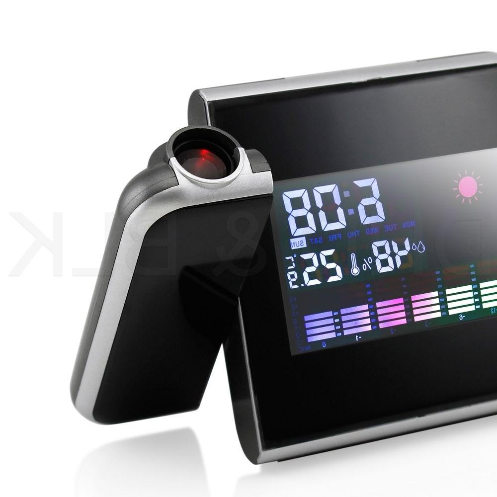Projection Digital LCD Snooze Alarm Clock Display