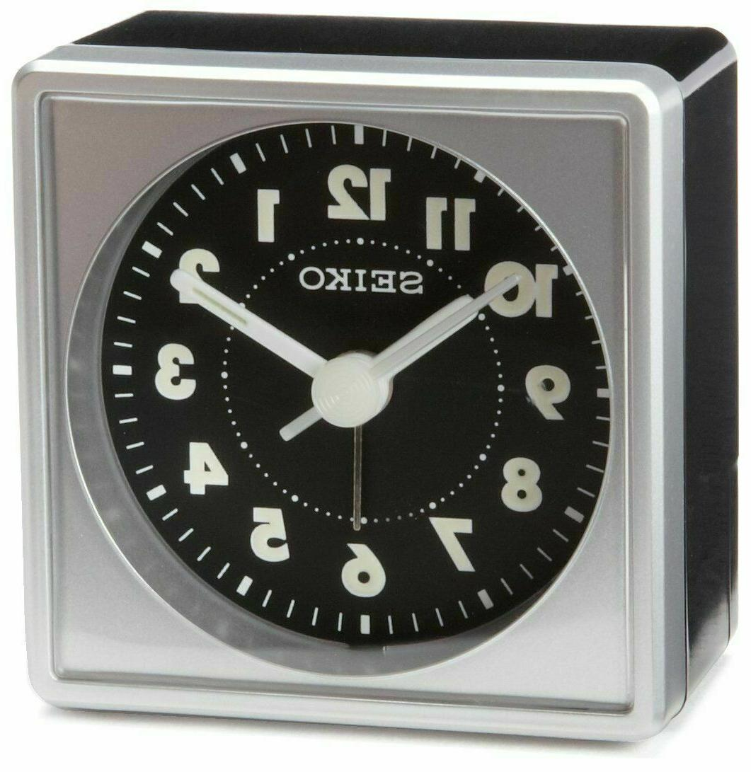 qhe083slh bedside alarm clock black