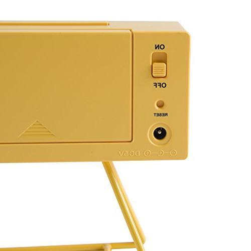 Seiko QHL062Y Clock Yellow