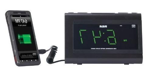 RCA Desktop Radio Alarm - - USB