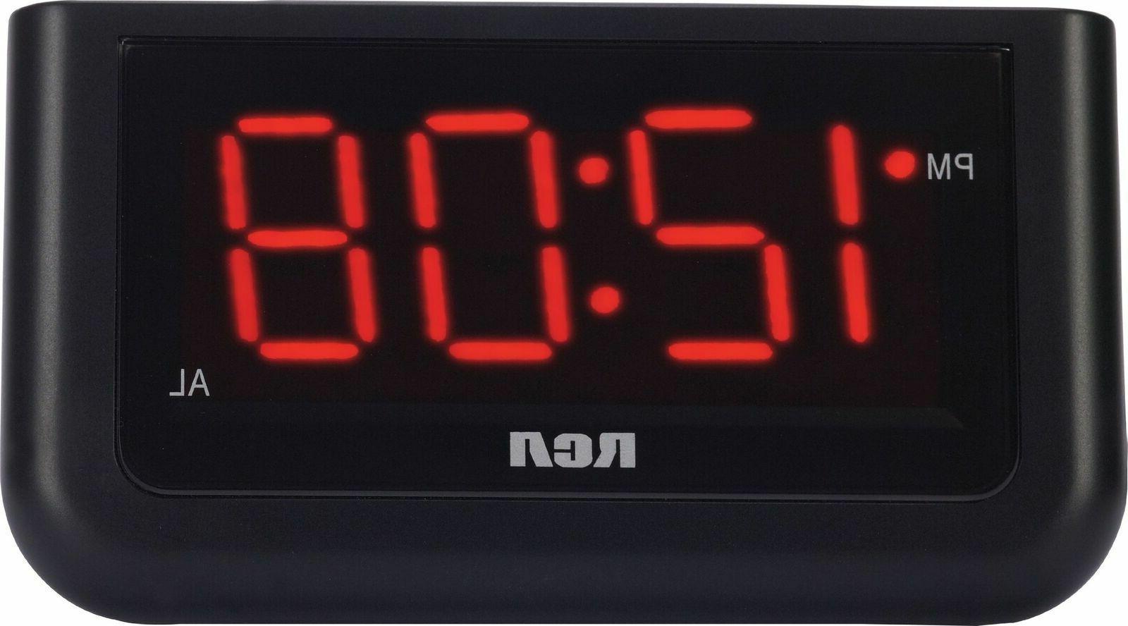 RCA Clock - Black