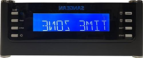 Sangean With Controlled Clock