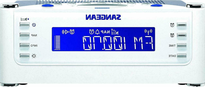 Sangean RCR-22 with FM-RDS / / Digital Clock Radio