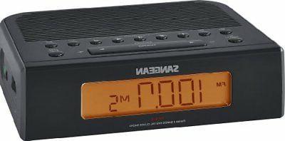 rcr 5 desktop clock radio 0 6