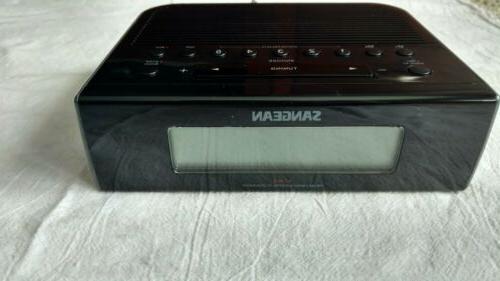 rcr 5 digital am fm clock radio