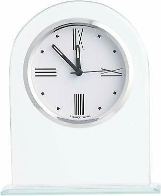 regent table clock 645 579 glass arch