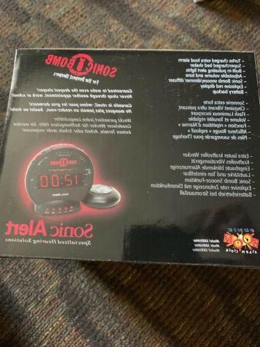 Sonic SBB500SS Sonic Alarm Vibrating Shaker Real
