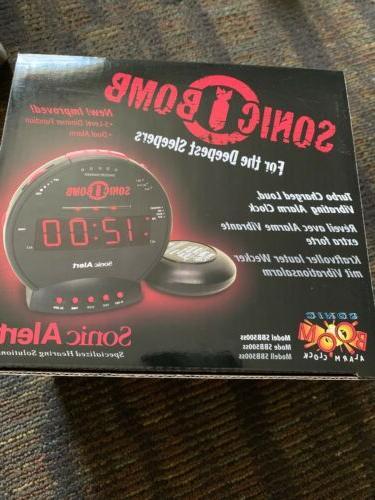 Sonic Alert Sonic Alarm Vibrating Shaker Real