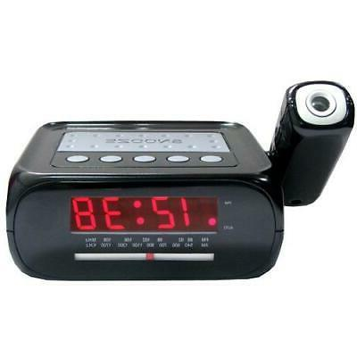 sc projection alarm clock radio