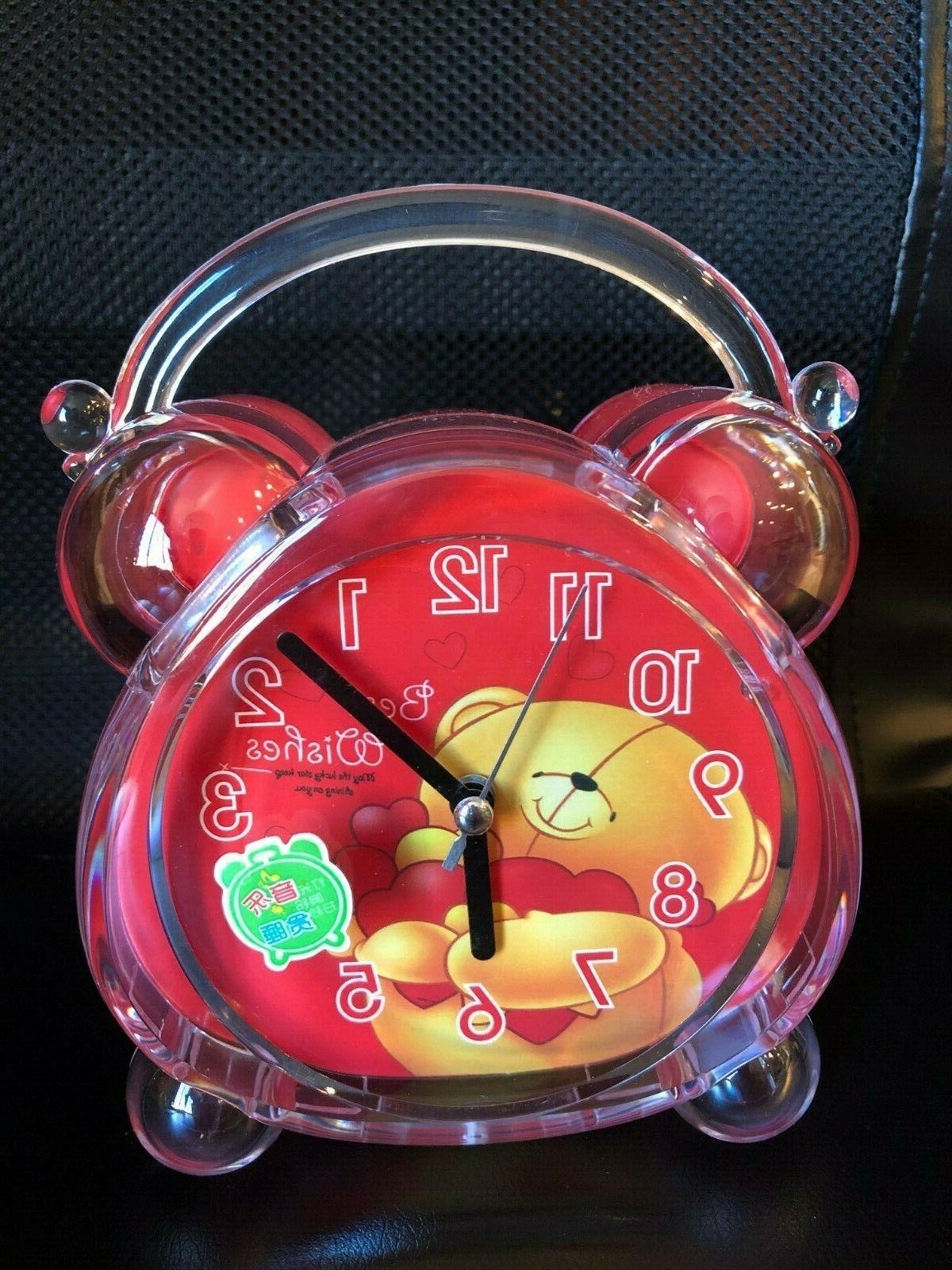 Silent Alarm Clock Bedside Adult SOUNDS