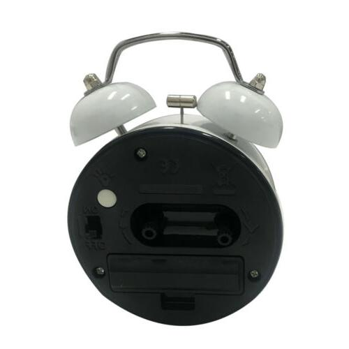 Silent Analog Vintage Retro Classic Light Bell