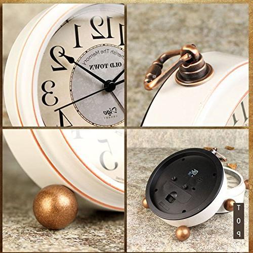 "5.5"" Mantel Analog Clock Numerals"