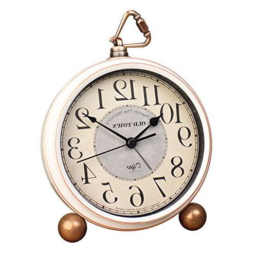 silent desk clocks mantel decorative