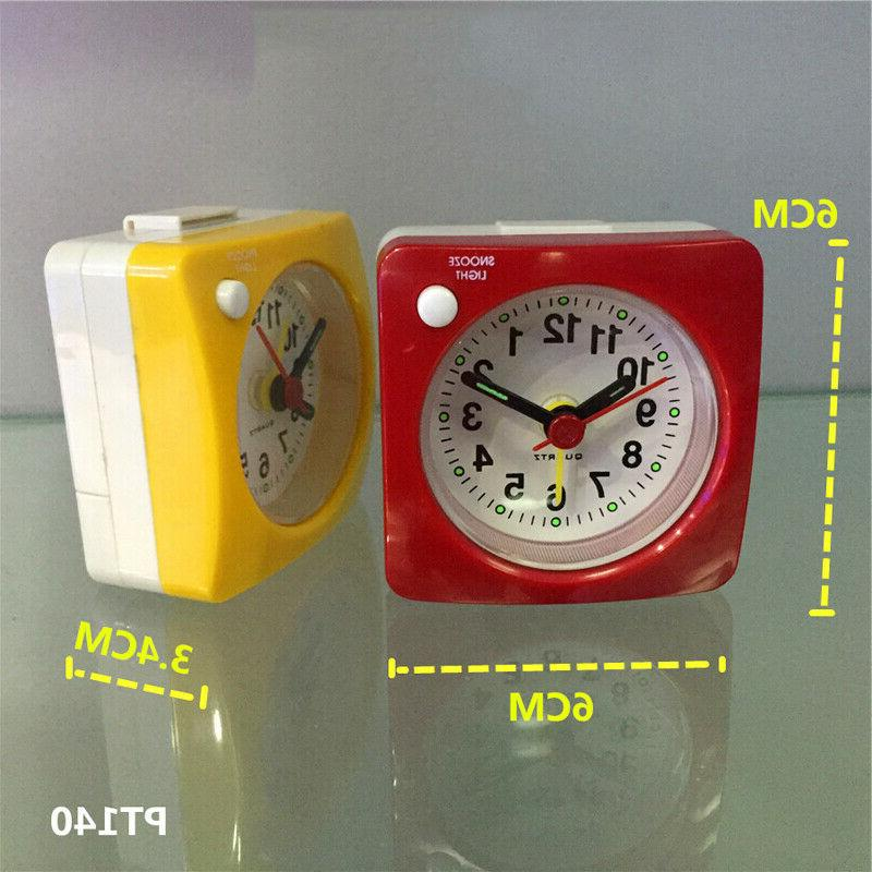 Silent Snooze Alarm Light Clock