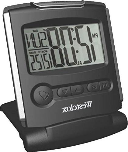 Westclox Slim Travel Alarm Clock