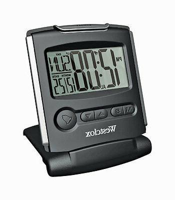 slim fold alarm clock