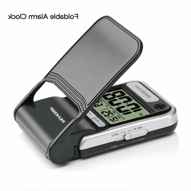 Peakeep Alarm Clock, Beep, Battery Digital