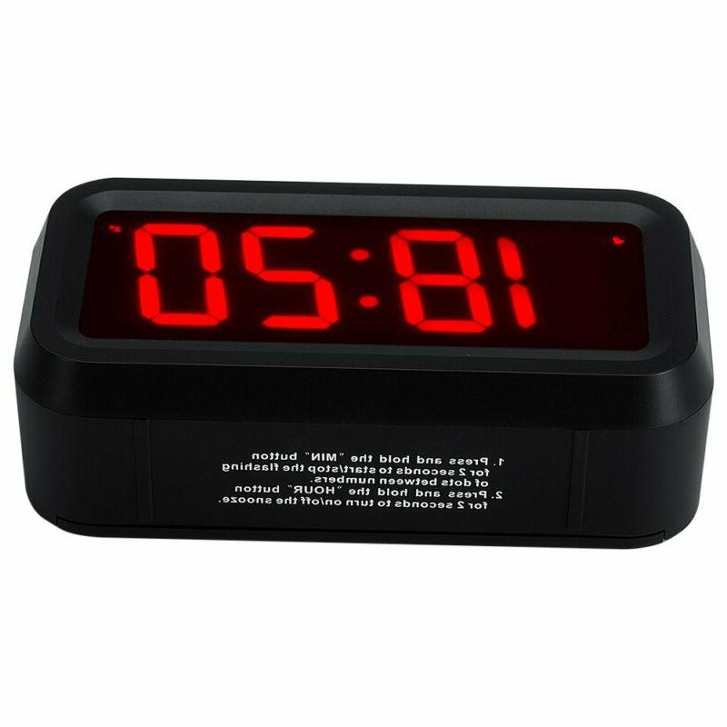 """Timegyro Small Clock With 1.2"""""""
