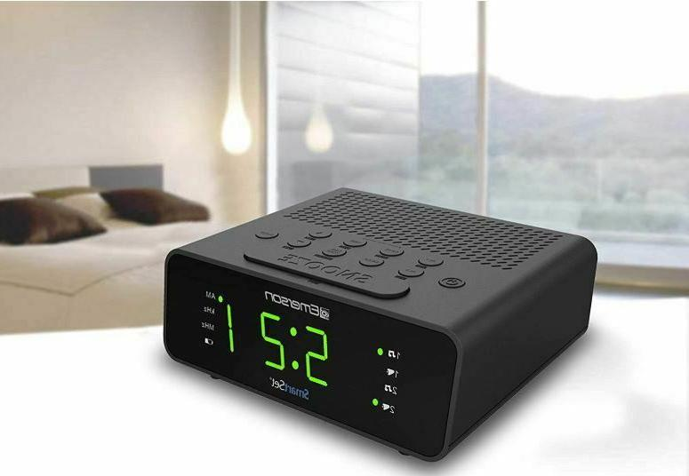 Clock Radio with AM/FM Radio New