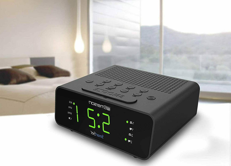 Emerson Clock AM/FM Radio New