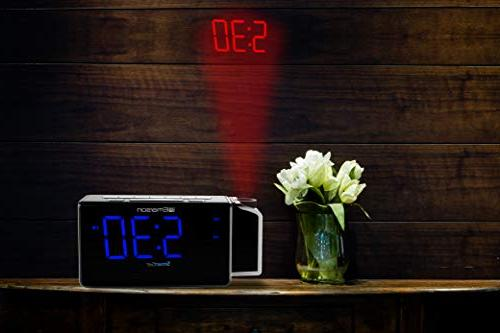 "Emerson Alarm Clock Charging for 1.4"" 4 Dimmer,"